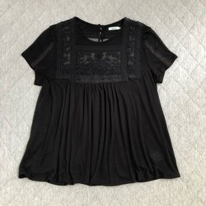 Kimchi Blue Lace Inset Top
